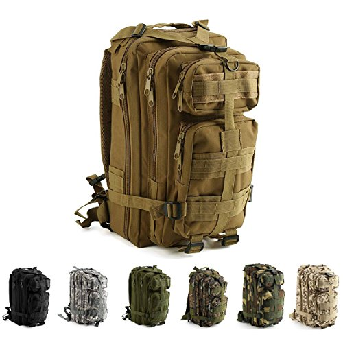 Risefit Military Tactical Backpack Water Resistant Military Army Rucksack, 30L/ 40L / 45L Assault Trekking Rucksack for Outdoor Camping, Hiking, Trekking, Fishing and Hunting Army Backpack