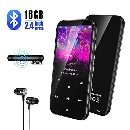 Olycism 16GB Tragbarer Bluetooth MP3 Player 2,4