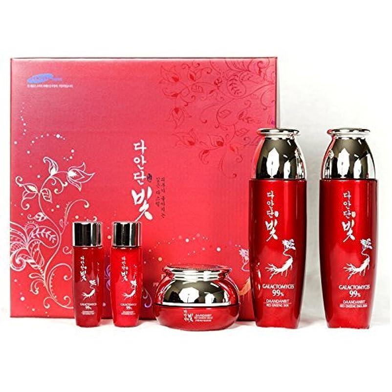 症候群故意にシンプトン[韓国コスメDaandanbit]Premium Red Ginseng skin care Set プレミアムレッドジンセンスキンケア4セット,樹液/乳液/クリーム/ BBクリーム [並行輸入品]