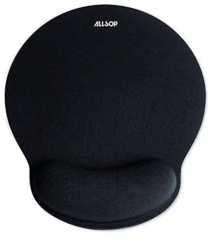 Allsop Mouse Pad Pro Memory Foam Mouse Pad - Black (30203)