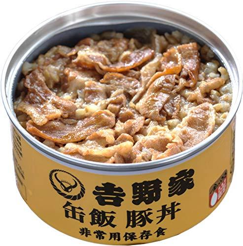 吉野家 [缶飯 豚丼12缶セット]非常食 保存食 防災食 缶詰 /常温便
