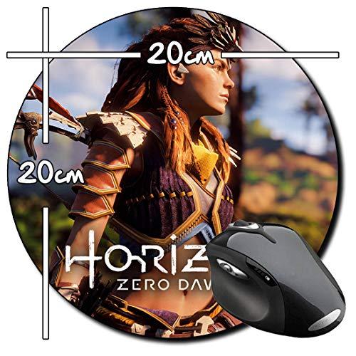 Horizon Zero Dawn Aloy Rund Mauspad Round Mousepad PC