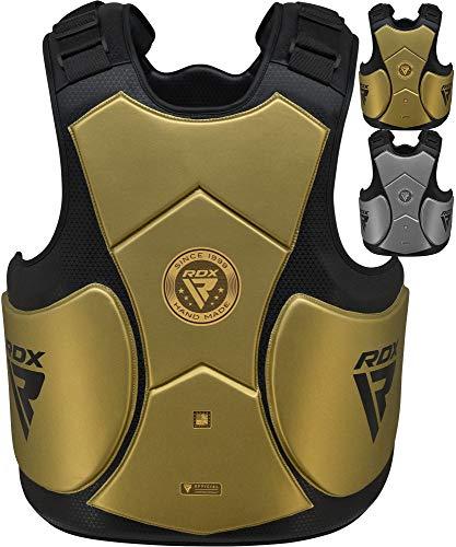 RDX Körperschutz Boxen Kampfsport MMA Training, Mark Pro Körperschutzweste, Muay Thai Kampfweste Sparring Coaching Körperpanzer Bauchschutz Kickboxen Taekwondo BJJ Karate (MEHRWEG)
