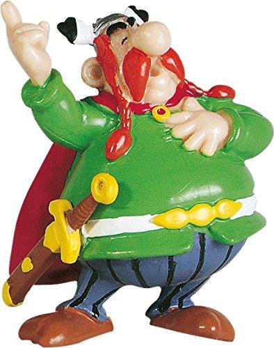 Plastoy- Jefe Abraracourcix Figura PVC 9 cm Asterix El Galo (PLY00060509)