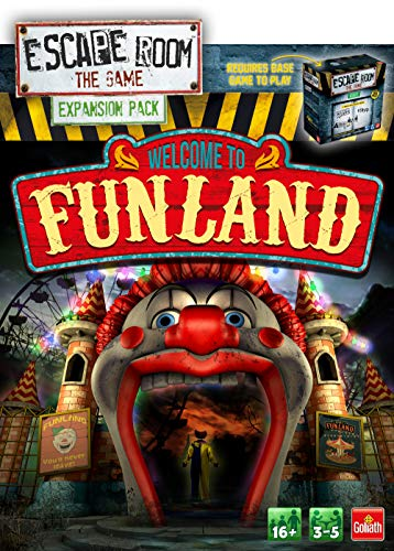 Goliath Games 911737.008 Escape Room Erweiterungspaket: Welcome to Funland
