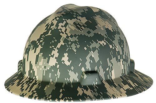 MSA - 10104254 Camouflage Polyethylene Cap Style Hard Hat With 4 Point Ratchet Suspension