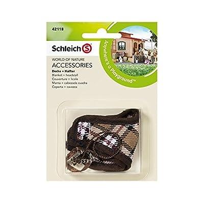 """Schleich 42118 """"Blanket and Headstall Figurine Accessories"""