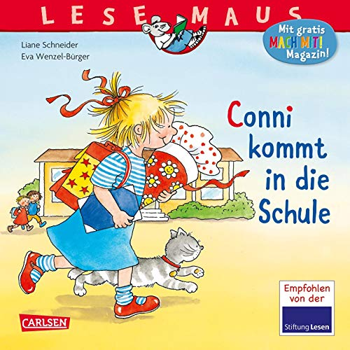 LESEMAUS 46: Conni kommt in die Schule (46)