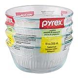 Pyrex Bakeware 10-Ounce Custard Cups Dessert Dish (Set of 4)