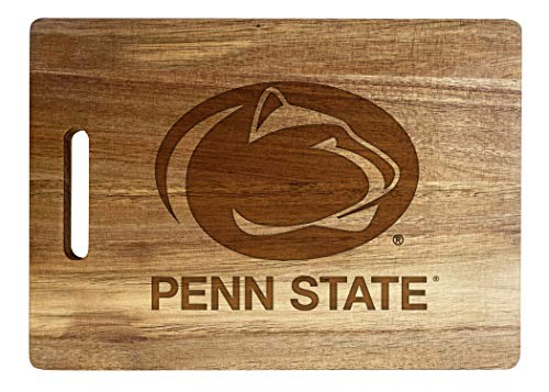 Penn State Nittany Lions Engraved Wooden Cutting Board 10' x 14' Acacia Wood - Large Engraving