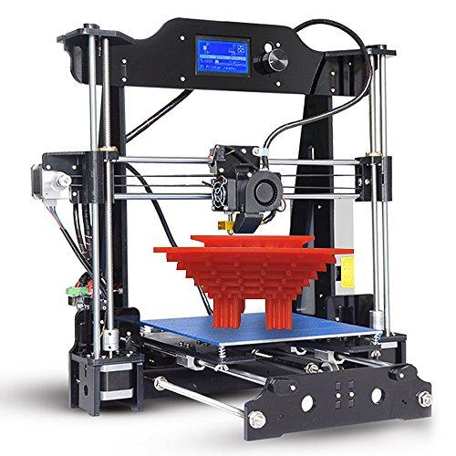 aibecy tronxy Desktop 3d Drucker DIY Kits Ich Versammlung LCD12864Anzeige Acryl Rahmen Wind i3mit TF Karte drucken Größe 220* 220* 200mm Unterstützung ABS/PLA/TPU