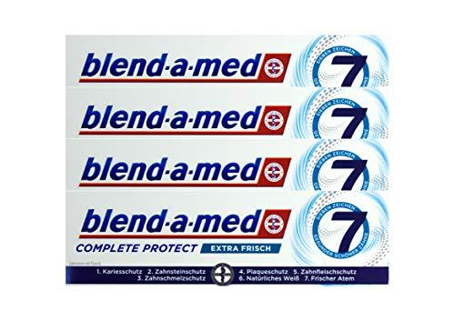4x Blend-a-med Complete Protect 7 Zahncreme Extra Frisch 75ml Zahnpasta Neu & OVP
