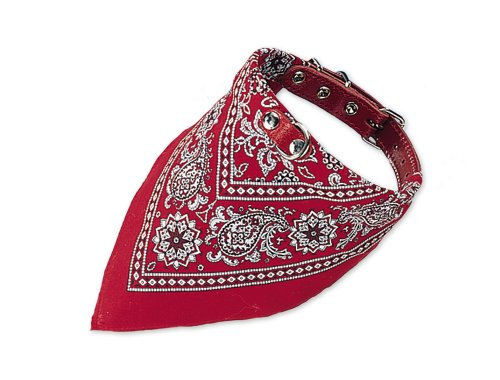 Nobby Halsband mit Tuch rot L: 35 cm