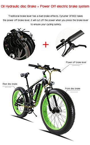 E-Bike Mountainbike 1000W Extrbici XF800 Fatbike Bild 5*