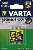 VARTA Power Akku 5703 Accu R2U Micro AAA NiMH 4er Blister 1000mAh, 1,2V, NiMH