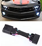 Muzzys DRL Adapter FOR 2010-2013 Chevrolet Camaro DRL + Headlights + Halos Harness Plug and Play Adapter Kit, Gain Control of your Daytime Running (Fog) Lights!