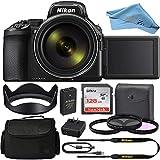 Nikon COOLPIX P950 Digital Camera (Black) 26532 + SanDisk 128GB ZeeTech Basic Accessory