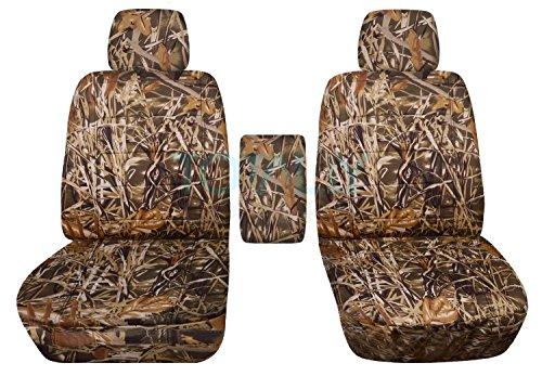 Totally Covers Compatible with 2009-2014 Ford F-150 Camo Truck Bucket Seat...