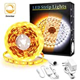 Led Strip 5m Dimmbar, BASON Gelb 2200K Led Streifen, 300 LEDs SMD 2835 LED Lichtband, DIY Led Leiste...