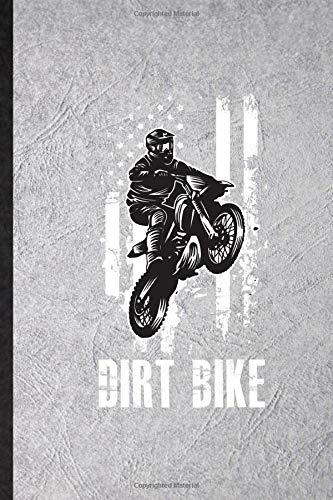 mountain bike yamaha Dirt Bike: Funny Dark Bike Driving Lined Notebook Writing Journal Motorbike Driver Rider