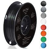 Filament PLA 1.75mm, EERYONE PLA Filament 1.75mm, Imprimante 3D Filament PLA Pour Imprimante 3D, 1kg 1 Spool,Noir