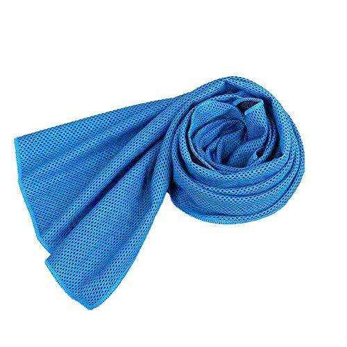 Toalla de hielo deportiva para absorber el sudor y de secado rápido para hombres y mujeres, correr, yoga, gimnasio, adultos, limpiar el sudor