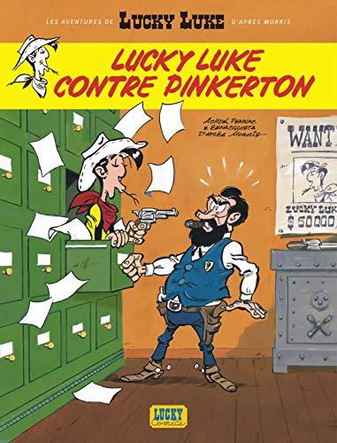 Les nouvelles Aventures de Lucky Luke, tome 4 : Lucky Luke contre Pinkerton: Lucky Luke contre Pinkerton : nouvelles aventures