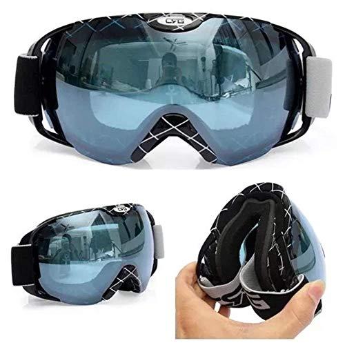 outingStarcase Piezas de la Motocicleta Que compite contra la Niebla Gafas UV de Doble Lente Snowboard Gafas de esquí de la Motocicleta de la Herramienta de la Motocicleta