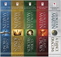 George R. R. Martin's A Game of Thrones 5-Book Boxed Set (Song of Ice and Fire Series): A Game of Thrones, A Clash of...