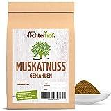 Muskatnuss gemahlen (250g) Premium Qualität vom-Achterhof Muskat