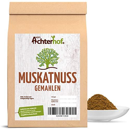 100 g Muskatnuss gemahlen Premium Qualität natürlich vom-Achterhof Muskat gerieben