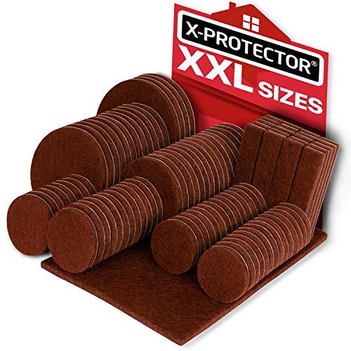 Furniture Pads X-PROTECTOR Big Sizes Heavy Duty Felt Pads