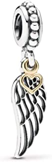 PANDORA Love & Guidance Dangle Charm, Two Tone - Sterling Silver and 14K Yellow Gold, One Size