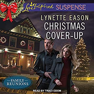 Christmas Cover-Up     Family Reunions Series, Book 2              Written by:                                                                                                                                 Lynette Eason                               Narrated by:                                                                                                                                 Traci Odom                      Length: 5 hrs and 47 mins     Not rated yet     Overall 0.0