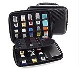 KING OF FLASH Large Electronics Case, Portable Electronics