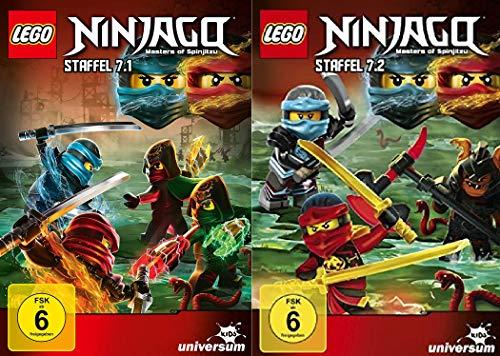 Lego Ninjago Staffel 7 (7.1+7.2) im Set - Deutsche Originalware [2 DVDs]