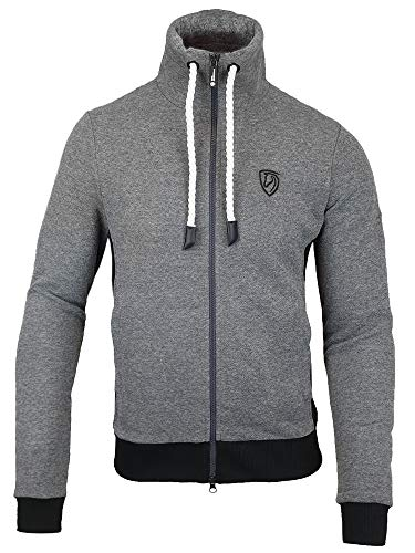 TIM´S Equestrian Herren Sweater Lasse grau Pullover Pulli Größen L