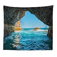 印刷されたサボテンタペストリー、リビングルームぶら下がっている布、アメリカの壁画、3D壁の毛布,A,71x91in