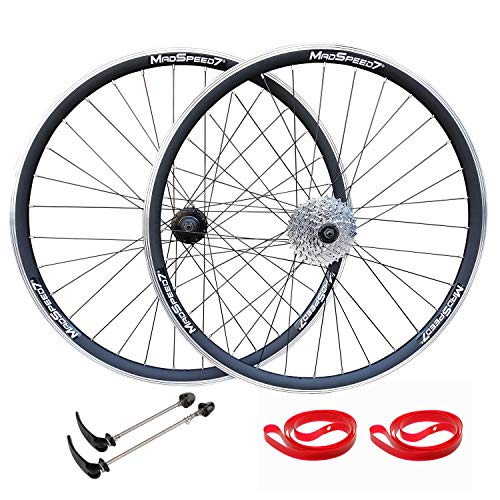 QR 27.5' 650b (ETRTO 584x19) Mountain Bike Wheel Set 8 speed Cassette Freehub