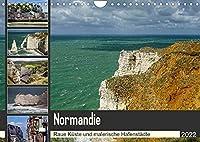 Normandie - Raue Kueste und malerische Hafenstaedte (Wandkalender 2022 DIN A4 quer): Fotoreise entlang der normannischen Kueste (Monatskalender, 14 Seiten )