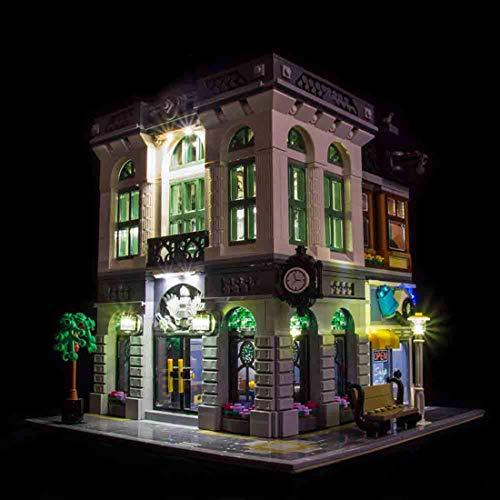 K9CK LED Licht Set für Lego Modell - DIY Leuchtende Bausteine Beleuchtung Kit für Lego 10251 Creator Steine-Bank - Modell Nicht Enthalten