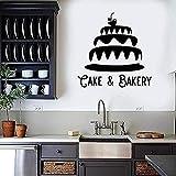 Pegatina de pared,pastelería panadería vinilo calcomanías horno pegatinas panadería panadería panadería decoración...