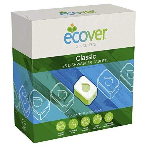 Ecover Dishwasher 25 Tablets (Pack of 2)
