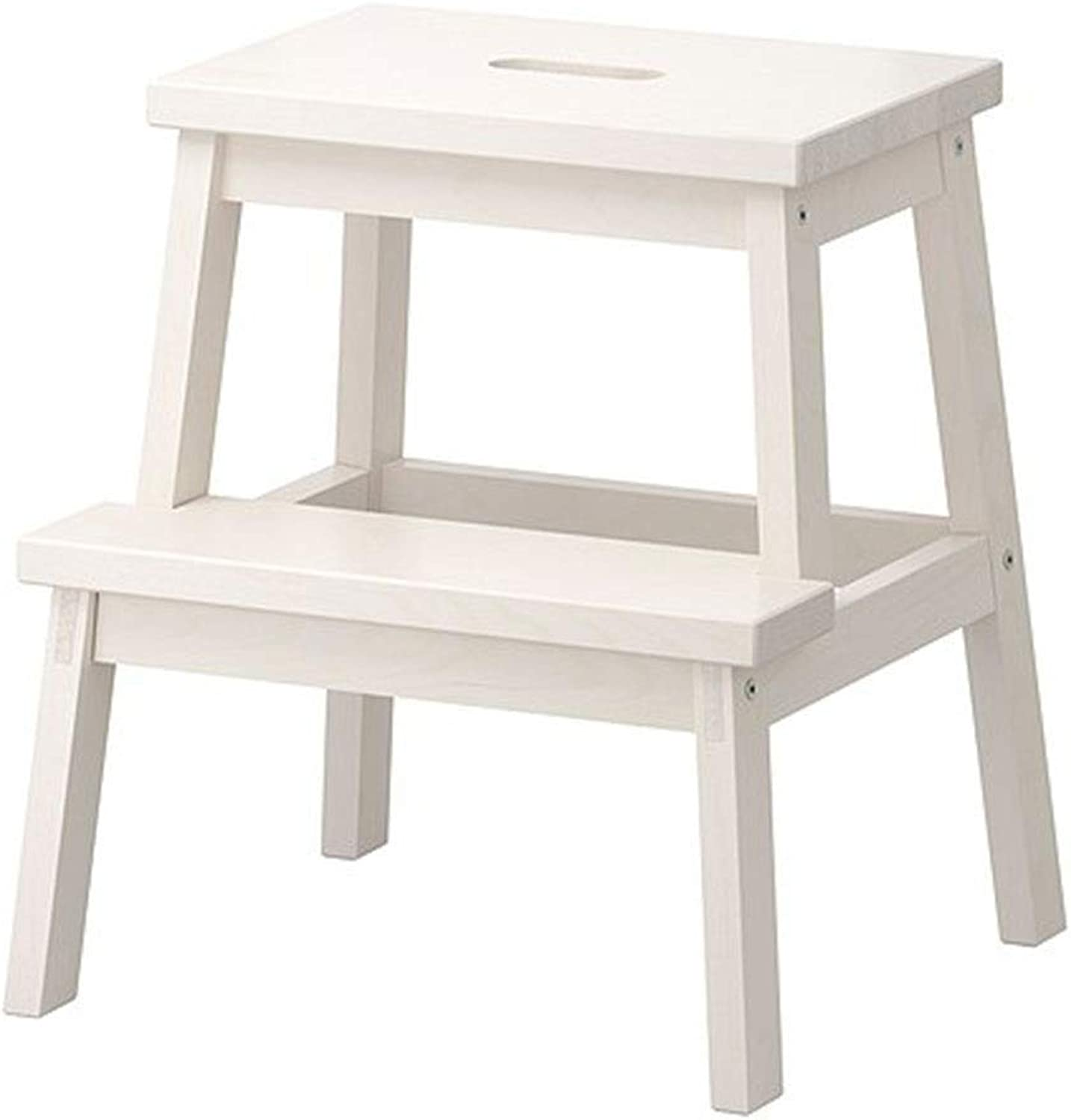 Yalztc-zyq16 Footstool White Stool Step Stool Ladder Footstool shoes Bench Stair Stool high Stool (color   Style A)
