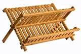 Compact wooden rack: Sagler wooden dish rack Review