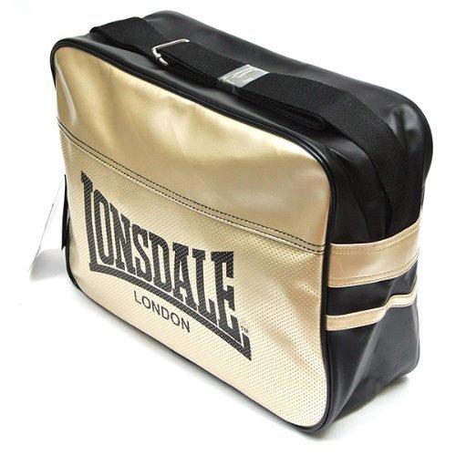 Lonsdale London Urban Shoulder Bag Color: Black / Gold by Lonsdale