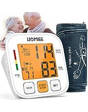 HOMIEE Elektronische Bovenarm Bloeddrukmeter - 3,4 '' LCD-scherm met Achtergrondverlichting, 2 Gebruikers van 180 Herinneringen, 22-36 cm Manchet, Polsdrukmeter, Bloeddruk - en Hartslagmeting