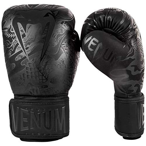 Venum Boxhandschuhe, Dragons Flight, schwarz-matt Größe 14 Oz
