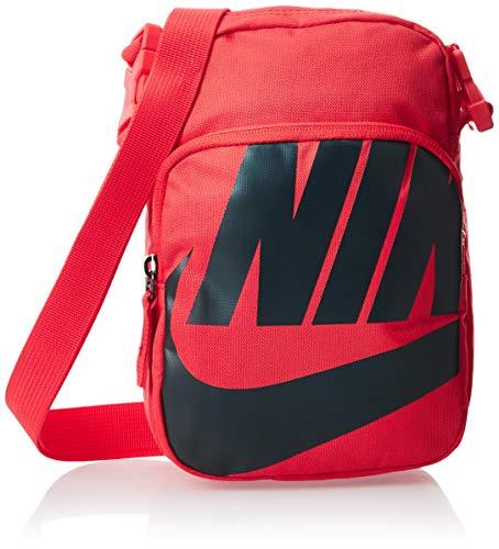 Nike Heritage 2.7 Umhängetasche Unisex für Erwachsene, rot, einzigartig