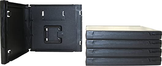 (5) Standard Black Nintendo DS Empty Replacement Game Cases Boxes VGBR14DSBK